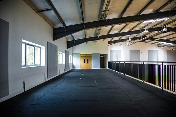 balcony/ gym floor